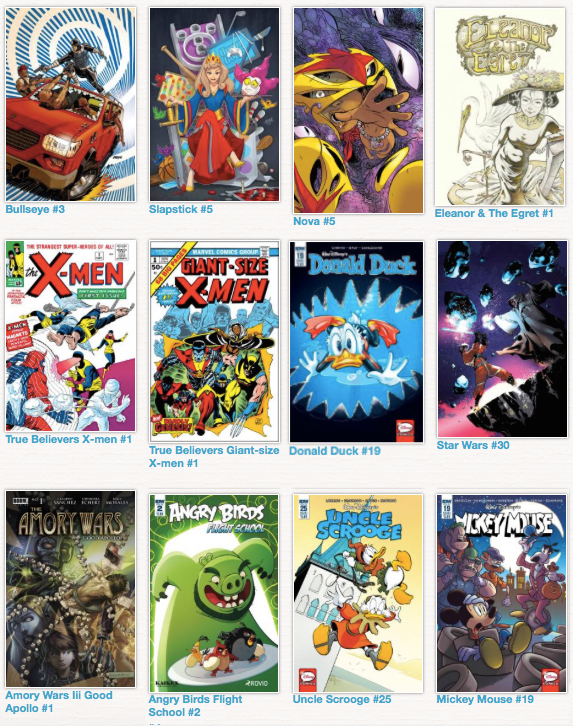 premium selection a5d48 90dff As always, many thanks go to GoCollect.com for putting out their mostly  accurate list of comics and covers every week. Click here to see their  whole list.