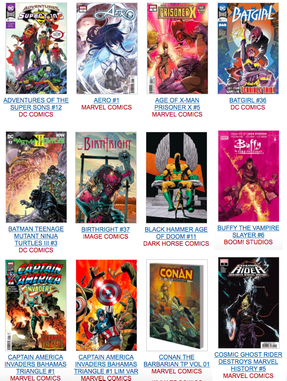 New Releases   Fantasy Books and Games (and Comics and Toys