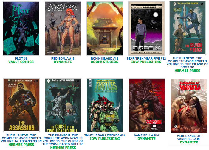 New Releases Fantasy Books And Games And Comics And Toys A
